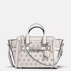 COACH 蔻驰 Swagger 15 with ombre rivets 女士斜挎包