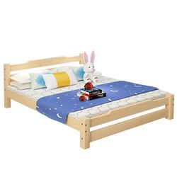 亿宸贵苏 经济型简易木床 150*200cm