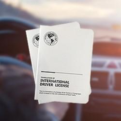 国际驾照翻译认证件+租车满减