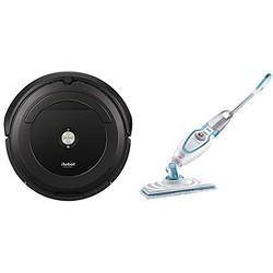 iRobot 艾罗伯特 Roomba 691 扫地机器人+百得 FSM1610 即热式蒸汽拖把