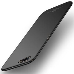 摩斯维 oppor11手机壳/r11plus防摔保护套/全包磨砂硬壳男女款 石墨黑 R11