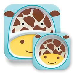Skip Hop 可爱动物园 SH252213 餐具碗碟套组  *2件