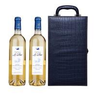 历史新低:Chateau le Raz Montravel 乐滋城堡 半甜白葡萄酒 礼盒装 750ml*2支*3件