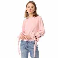 ENGLISH FACTORY 绑带设计运动衫