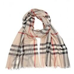 BURBERRY 博柏利 BUR3962863 羊毛真丝混纺围巾