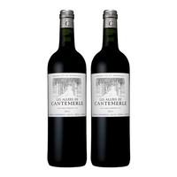 Les Allees De Cantemerle 佳得美庄园 副牌干红葡萄酒  750mll*4支