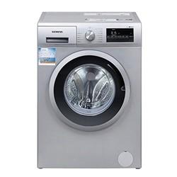 SIEMENS 西门子 XQG80-WM10N1680W 8公斤 全自动变频滚筒洗衣机 一级能效 LED显示屏 预约洗衣 智能自动断电