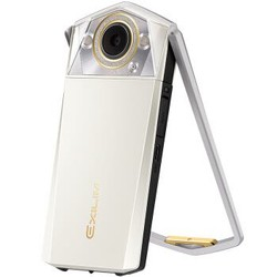 卡西欧(CASIO)EX-TR750 数码相机(3.5英寸大屏、双LED灯、天使之眼)美颜自拍神器 珍珠白