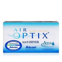 Alcon 爱尔康 视康 水润舒视氧 月抛隐形眼镜 3片*2盒+伴侣盒