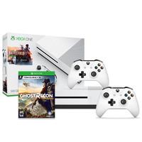 Microsoft 微软 Xbox One S 500GB《战地 1》同捆版游戏主机+额外手柄+《幽灵行动荒野》套装