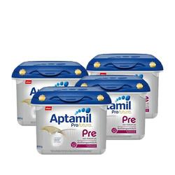 Aptamil 爱他美 Profutura 白金版婴儿奶粉 pre段 800g*4盒装