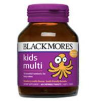 BLACKMORES 澳佳宝 儿童 复合维生素咀嚼片 60片 草莓味