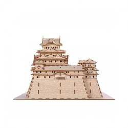 TEAMGREEN Plywood Puzzle系列 姬路城木质立体拼图