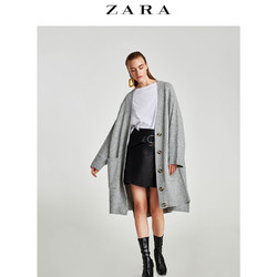 ZARA  女装 蝴蝶结拼接 T 恤 01165242250
