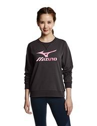 Mizuno 美津浓 K2CC6701 女式圆领针织运动衫