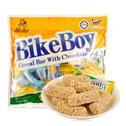 马来西亚进口 BikeBoy 燕麦巧克力 燕麦棒 400g