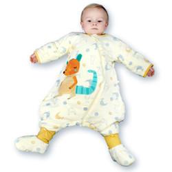 misslele 米乐鱼 宝宝双层3段分腿睡袋 +凑单品