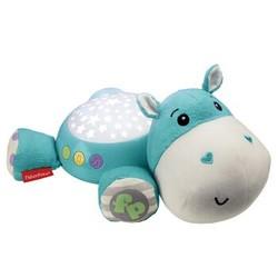 费雪(Fisher Price) 新生儿安抚玩具 小河马投影安抚器 CGN86 *2件