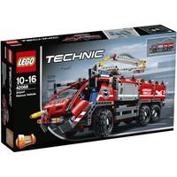 历史低价、值友专享:LEGO 乐高 Techinc 科技系列 42068 机场救援车