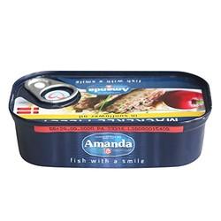 Amanda 阿嫚 鲭鱼片罐头 葵花油浸 125g(丹麦进口)