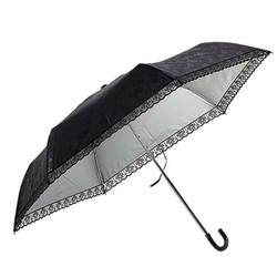 Water front  压花晴雨两用三折伞