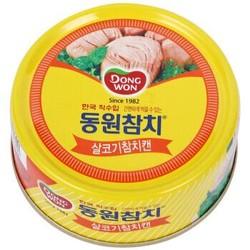 韩国 东远 金枪鱼罐头 原味100g *2件