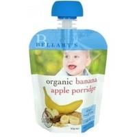 凑单品:BELLAMY'S 贝拉米 有机香蕉苹果泥粥 90g