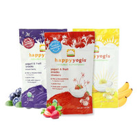 凑单品:Happy Baby 禧贝有机水果溶豆 混合浆果+香蕉芒果+草莓味 28g*3袋