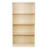 [当当自营]空间大师 四格书柜 书柜书架 置物架 收纳架 优品优质 109元