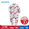 Carter's1件式连体衣包脚爬服摇粒绒男宝宝婴儿童装 39元