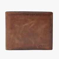 限20号、双11预售 : FOSSIL DERRICK CHINA 男士短款钱包