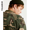 PullAndBear  男士 基本款连帽夹克 09713507 139元