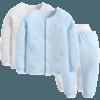 双11预售:好孩子暖棉新生婴儿秋衣秋裤套装保暖内衣套装2入装 144元