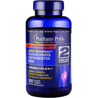 Puritan's Pride 普丽普莱 三倍氨糖MSM软骨素复合营养片 180片 *4件