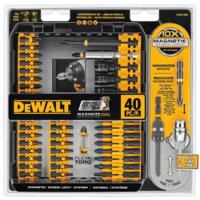 DEWALT 得伟 DWA2T40IR 电钻钻头附件套装 40件