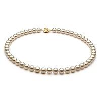 PearlsOnly 无暇高光淡水珍珠项链 7-8mm
