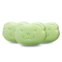 咪呢小熊 婴儿洗衣皂特惠装 宝宝尿布肥皂 bb皂 3块装 *10件