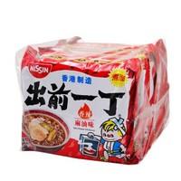 中国香港 出前一丁(NISSIN)方便面香辣麻油味 100g*5包