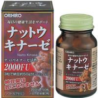 凑单品 :  ORIHIRO 纳豆激酶胶囊 60粒