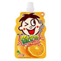 旺旺维多粒果冻爽粒粒橙 可吸果冻 儿童休闲零食零嘴 150g