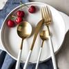 亿嘉  不锈钢牛排刀叉勺子咖啡搅拌勺 西餐刀叉勺四件套 西餐餐具 34.9元