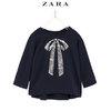 ZARA  女婴幼童 亮片蝴蝶结装饰T恤 39元