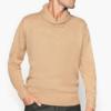 La Redoute Collections Shawl Collar 男士翻领混纺针织衫 *2件 €44.99包直邮(需用码,约¥355)