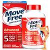 美国进口schiff movefree 氨基酸葡萄糖维骨力 硫酸软骨素 盐酸氨基葡萄糖片 红瓶80粒 *3件 198元(合66元/件)
