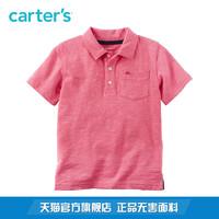Carter's 凯得史 儿童粉色POLOT恤