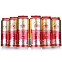 精酿醇香!凯尔特人 红啤酒 500ml*6听  好价19.9元