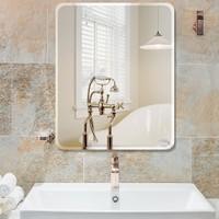 浴室镜子 免打孔 30*42cm