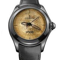2017黑五、历史新低:CORUM x PAiSTe 合作 Bubble系列 110.310.98/0061 PA01 R 男士机械腕表