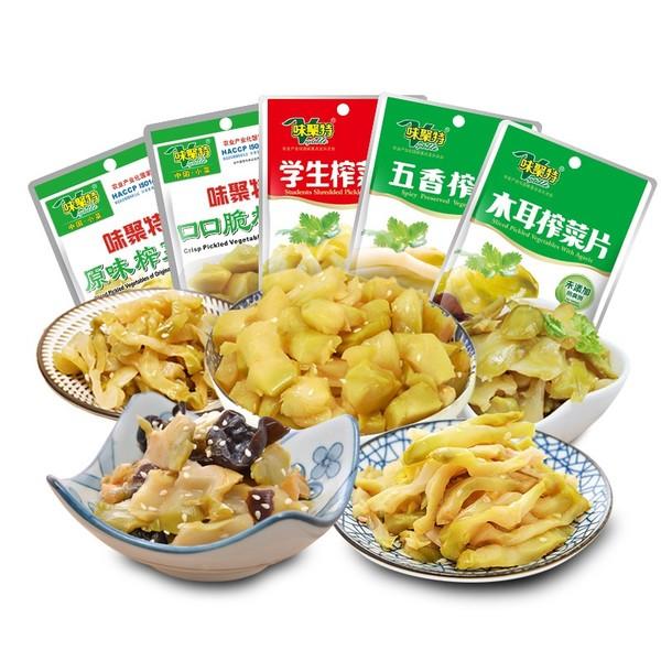 白菜汇总Ⅱ:味聚特下饭菜、双杭擀面杖、颈椎按摩器等