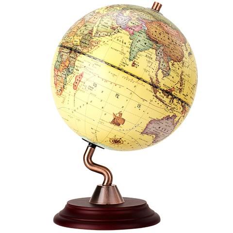 deli 得力 政区复古地球仪 直径20cm *5件